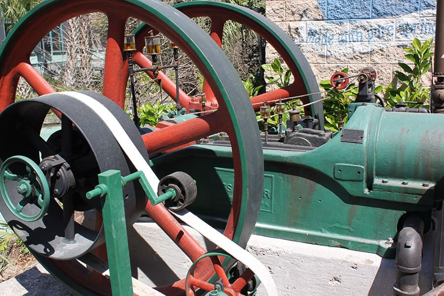 All in the Details: Ice Works Steam Engine At Disney Springs