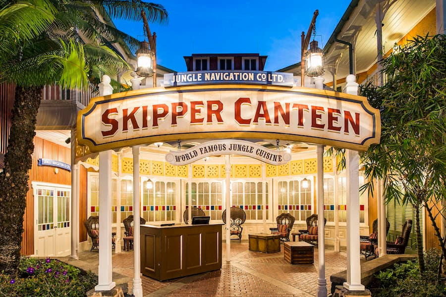 Jungle Navigation Co. Ltd. Skipper Canteen at Magic Kingdom Park