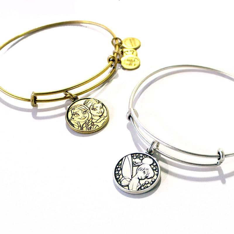 New Anna, Elsa and Tinker Bell Bangles from ALEX AND ANI Coming to Disney Parks