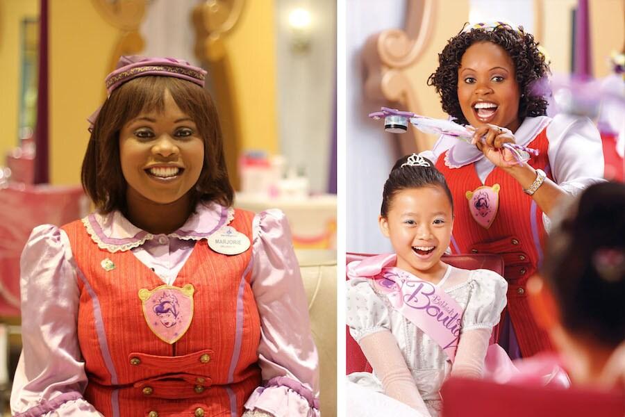 Marjorie Jeune Celebrates 10 Magical Years at Bibbidi Bobbidi Boutique in Disney Springs at Walt Disney World Resort