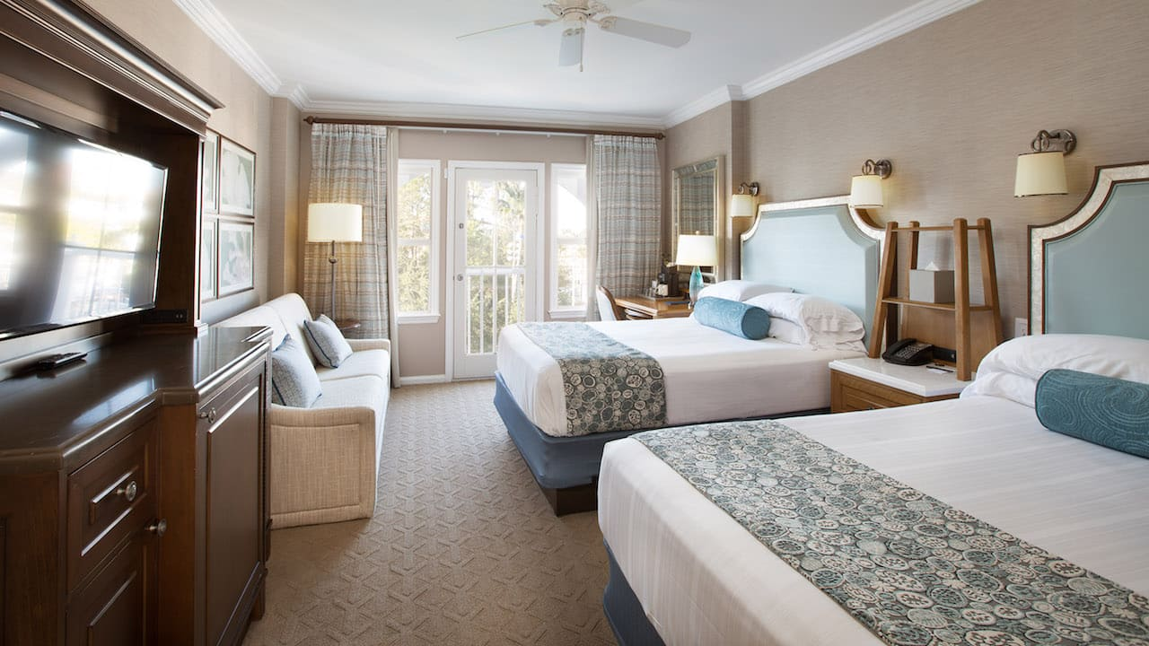 Room 4685 of Disney's Beach Club Resort