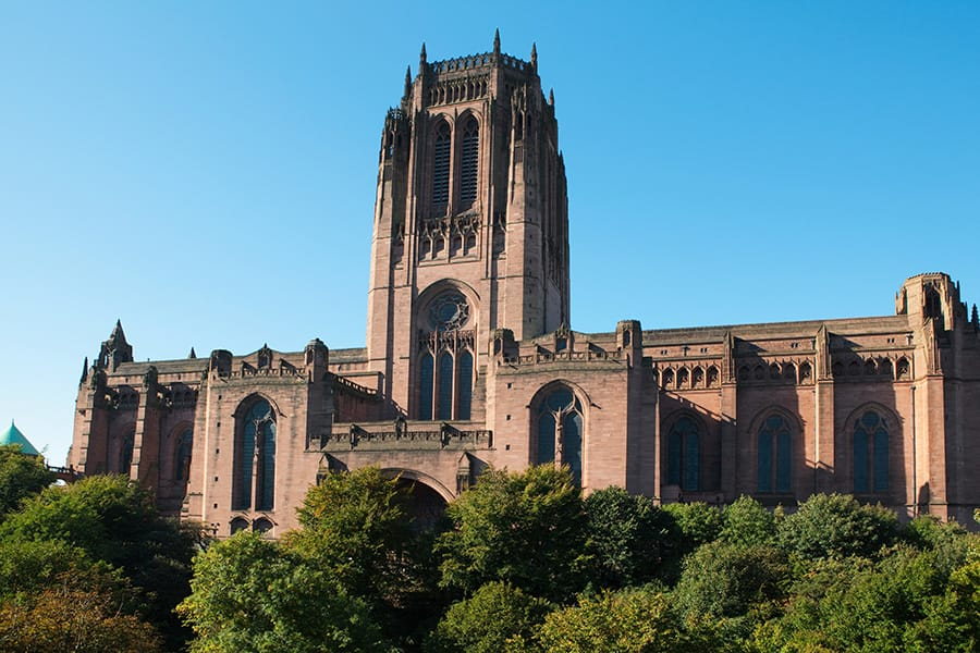 Cathedral in Liverpool with Disney Cruise Line: Adventures in Liverpool, England