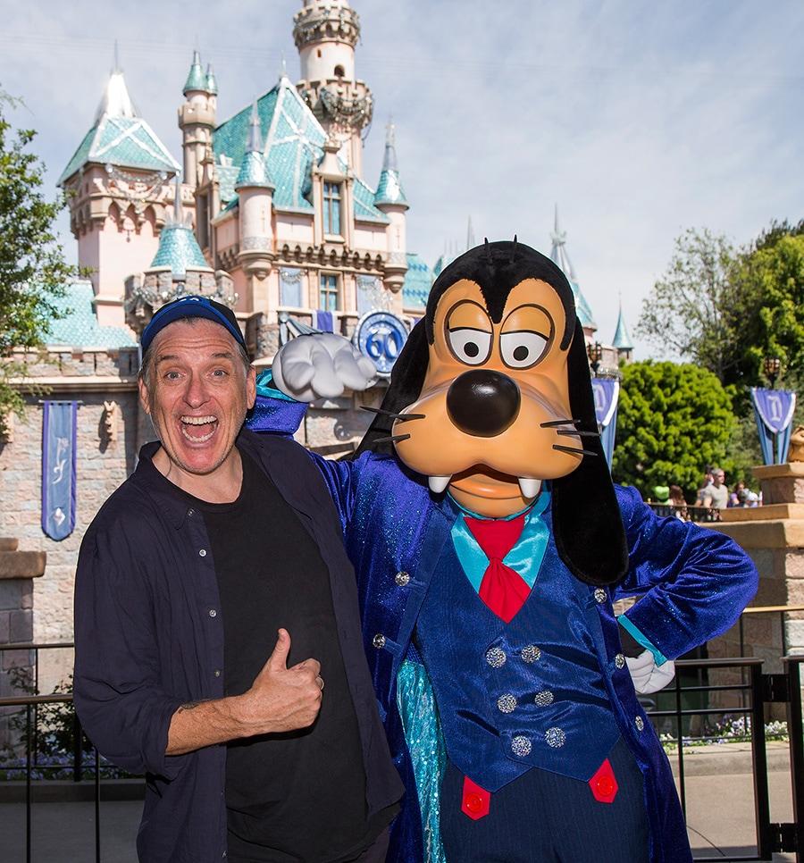 Craig Ferguson Celebrates Son's Birthday at the Disneyland Resort