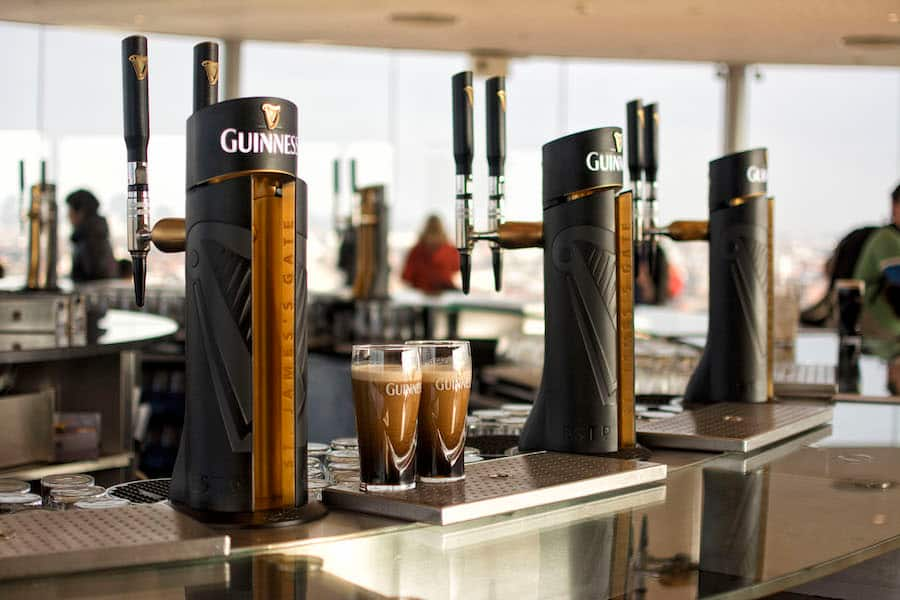 Become a Guinness Connoisseur at the Guinness Storehous