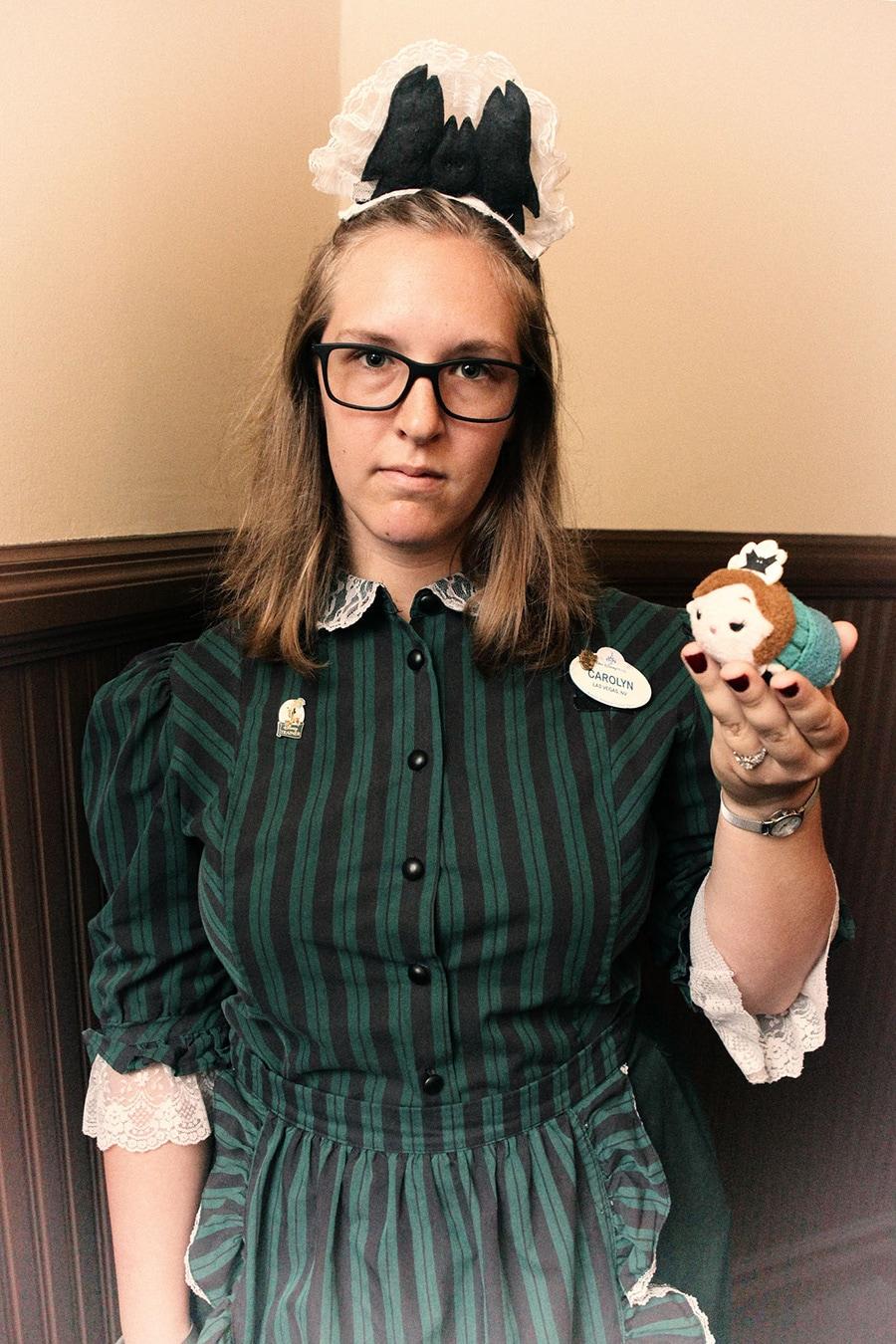 Hostess and Hostess Tsum Tsum at The Haunted Mansion at Magic Kingdom Park at Walt Disney World Resort