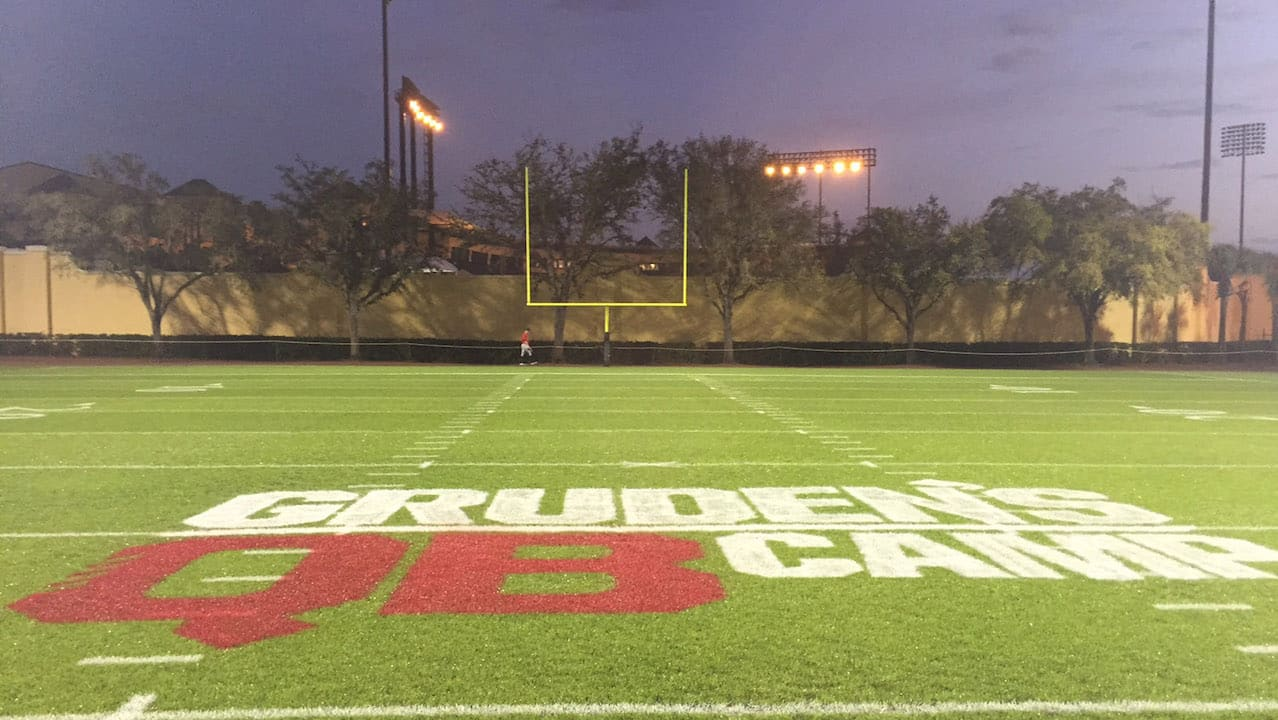 For the second straight year, Jon Gruden's QB Camp series is being filmed at ESPN Wide World of Sports Complex at Walt Disney World Resort. This year, the series will feature the last two Heisman Trophy-winning quarterbacks, Jameis Winston (Florida State) and Marcus Mariota (Oregon).