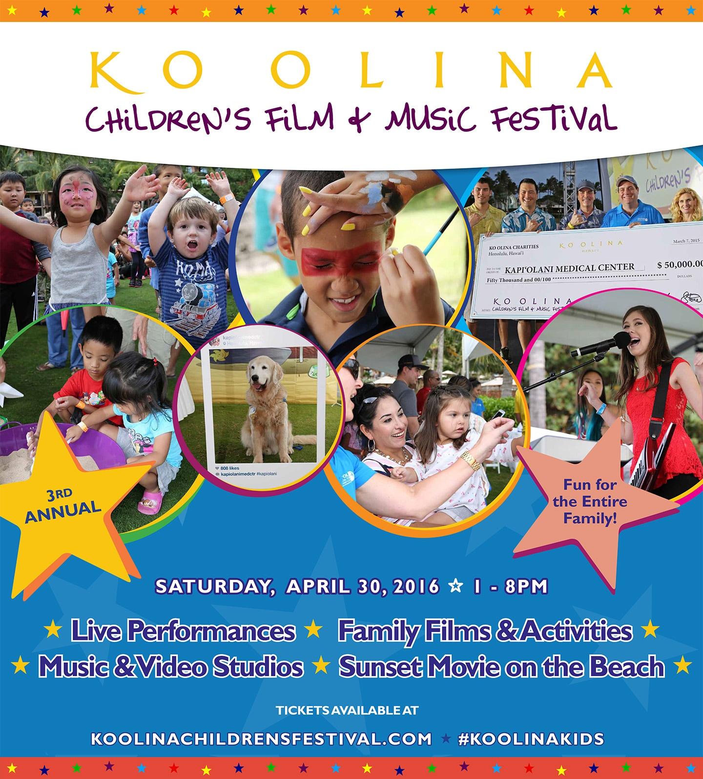 Aulani, a Disney Resort & Spa Welcomes the Ko Olina Children's Film & Music Festival