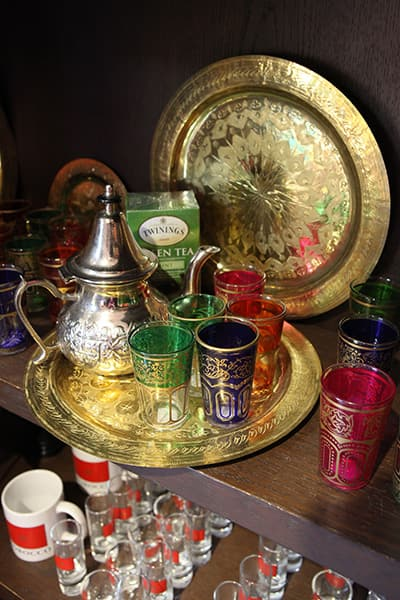 Tea Set for sale in Morocco at Epcot at Walt Disney World Resort