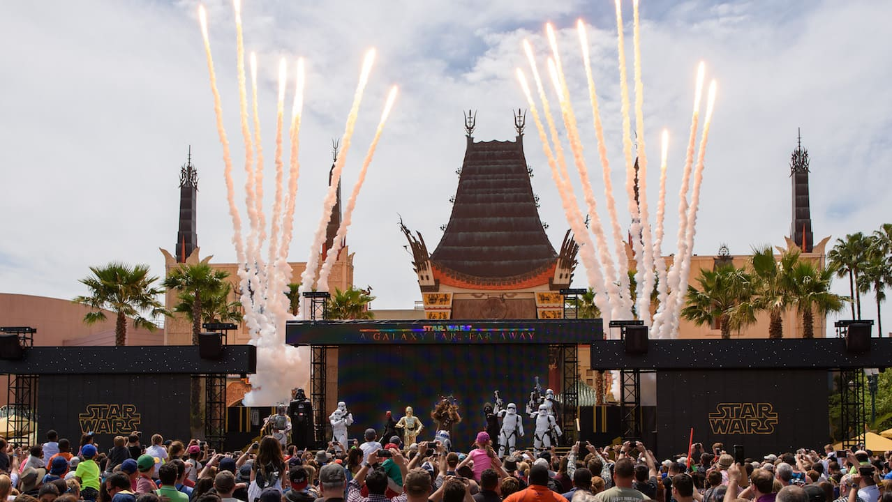 'Star Wars: A Galaxy Far, Far Away' Live Stage Show at Disney's Hollywood Studios