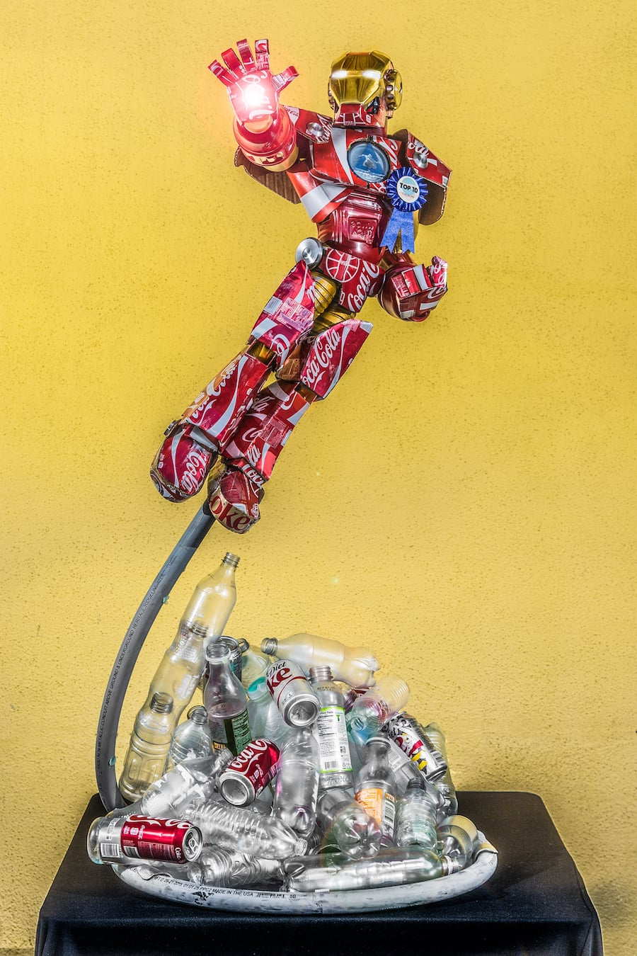 Disneyland Resort Cast Members Make Art Out Of Recyclables