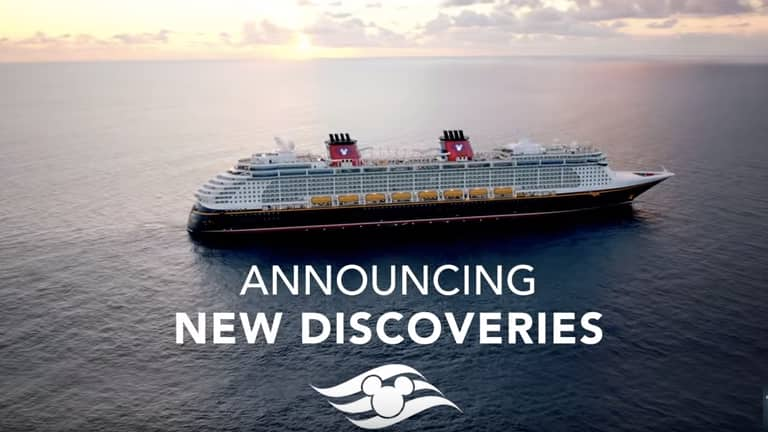 A Glimpse of Disney Cruise Destinations in Summer 2017