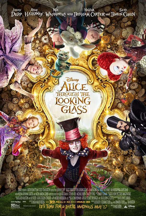 Disney's 'Alice Through the Looking Glass' Movie Poster