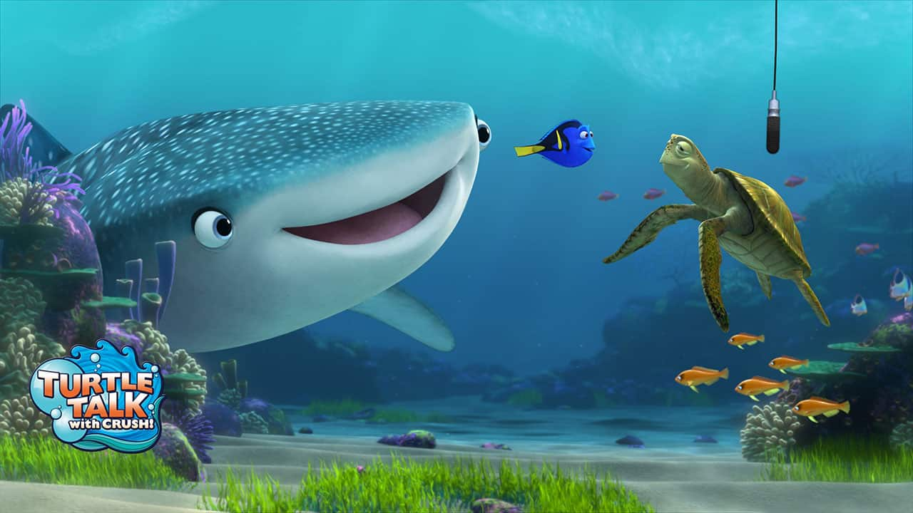 'Finding Dory' Characters To Debut At Turtle Talk With Crush in Early May