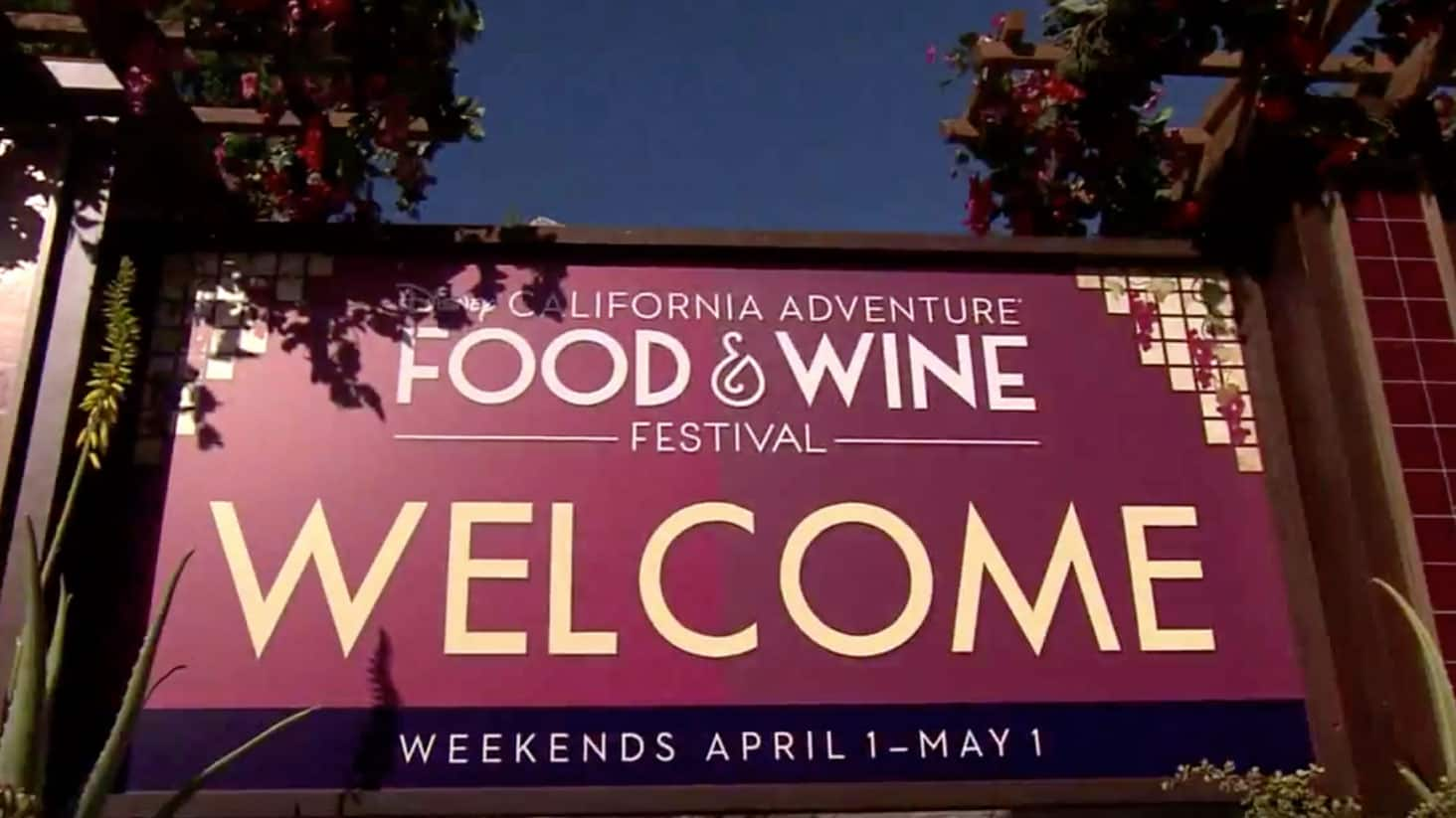 VIDEO – Dig in to Foodie Favorites at Disney California Adventure Food & Wine Festival