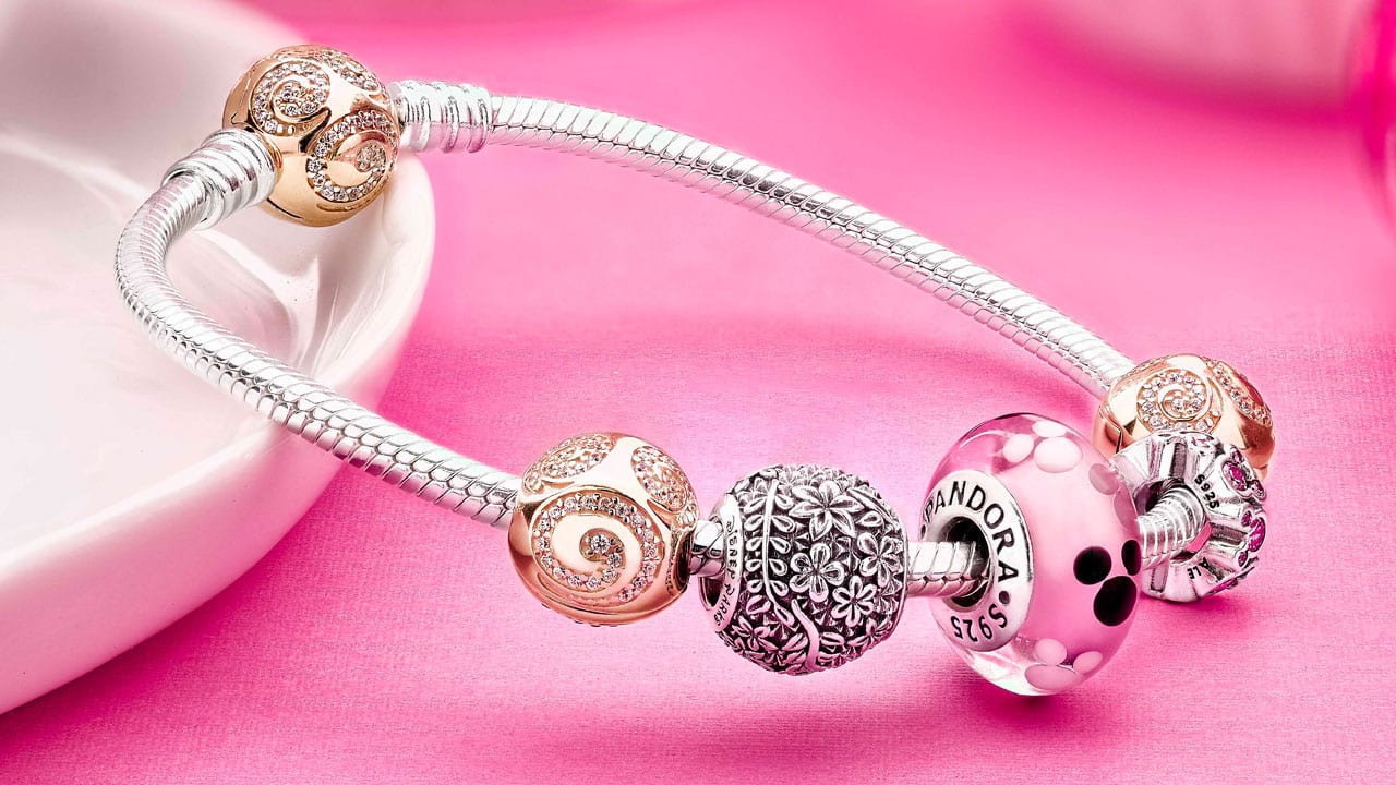 30c0aab8d7bfb New 14K Gold PANDORA Jewelry Coming to Cherry Tree Lane in Disney ...