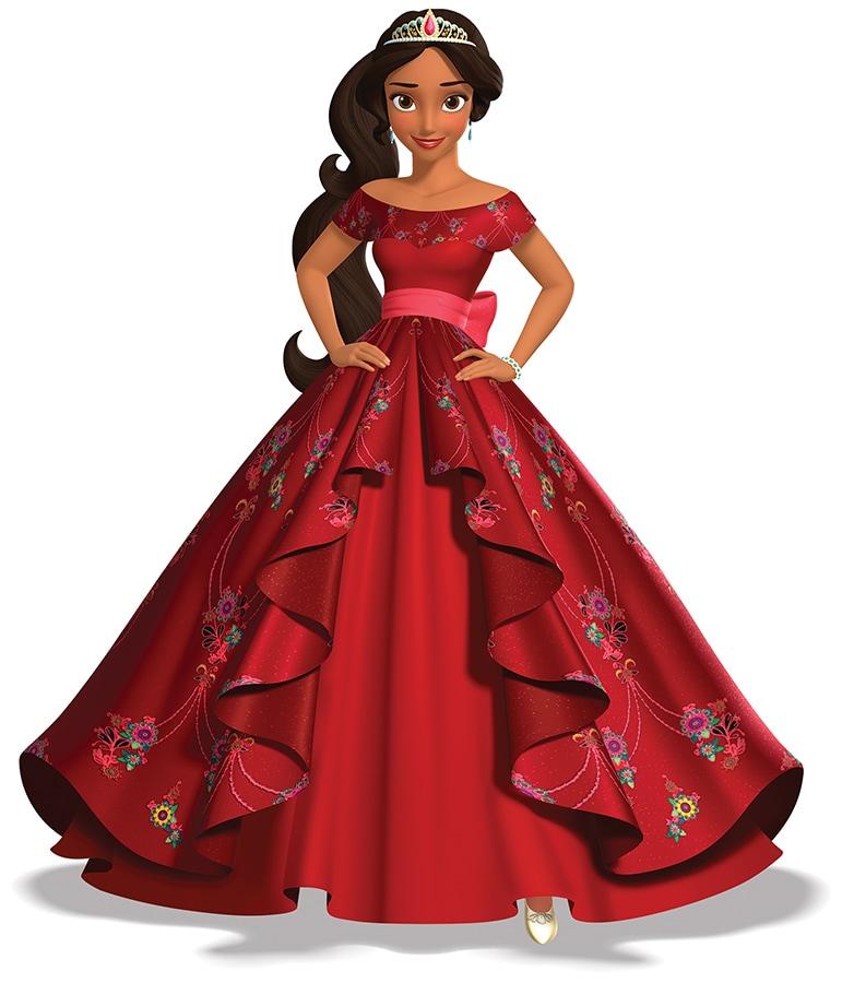 DisneyFamilia: First look at Princess Elena\'s Ballgown | Disney ...