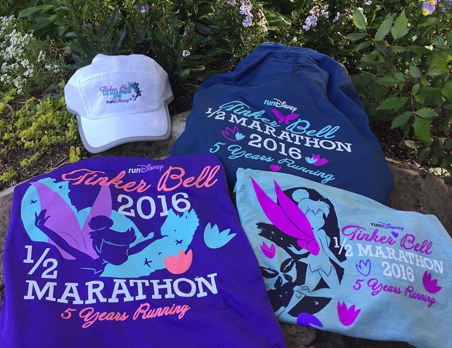 Tinker Bell Half Marathon Sweatshirts and Hat