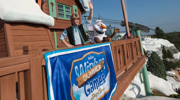 Frozen Games at Disney's Blizzard Beach Water Park