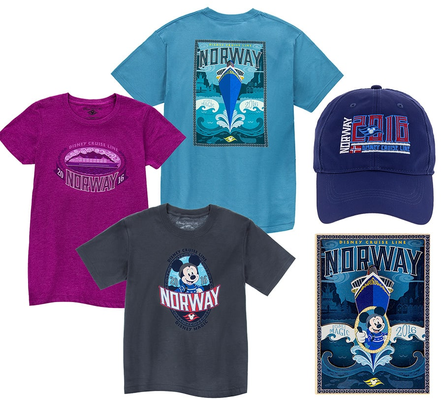 Disney Cruise Line Norway Merchandise