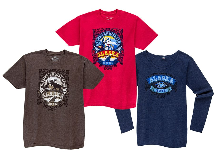 First Look at Disney Cruise Line Merchandise for the Alaskan Season