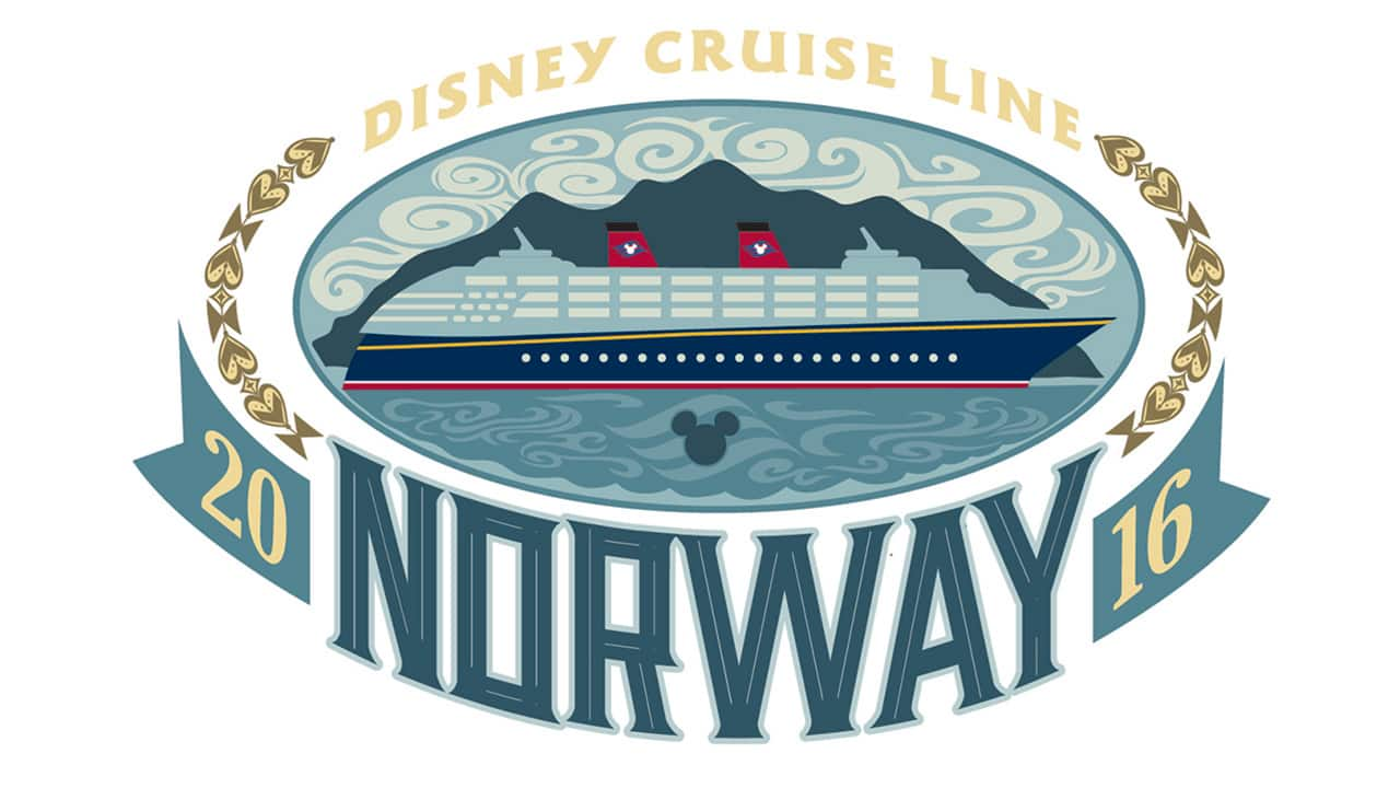 Disney Cruise Line Norway 2016 Logo