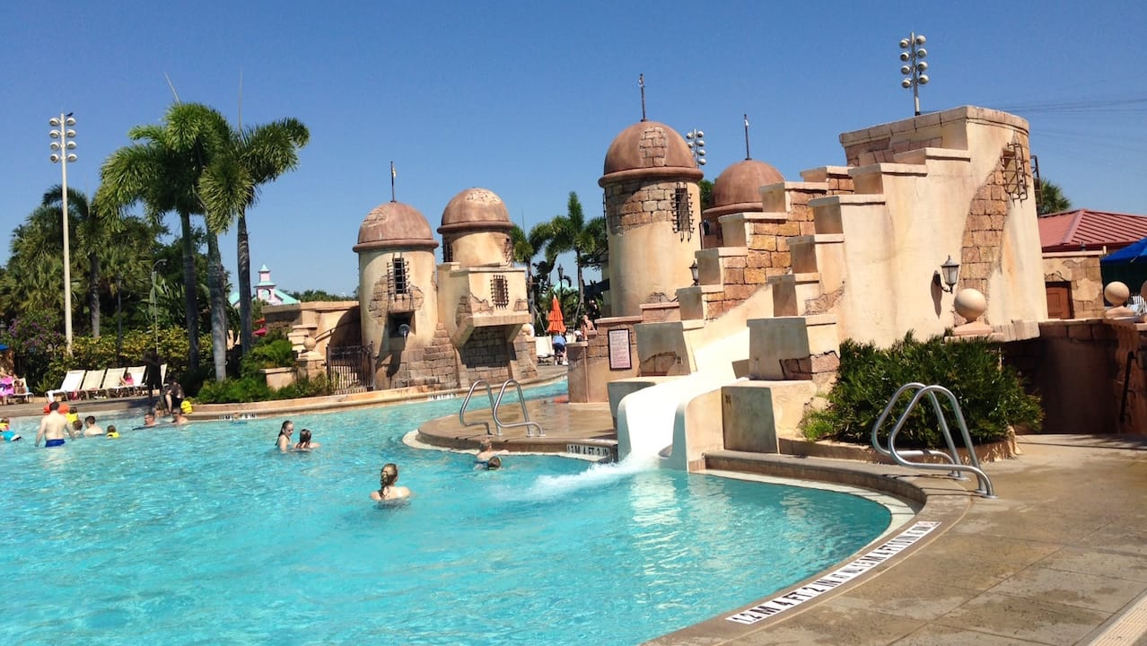 Fuentes Del Morro Pool At Disney S Caribbean Beach Resort
