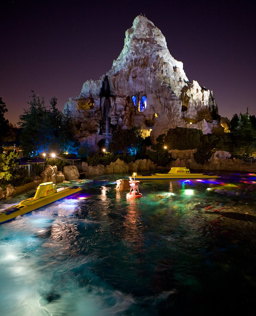 Matterhorn Mountain at Disneyland park at Disneyland Resort