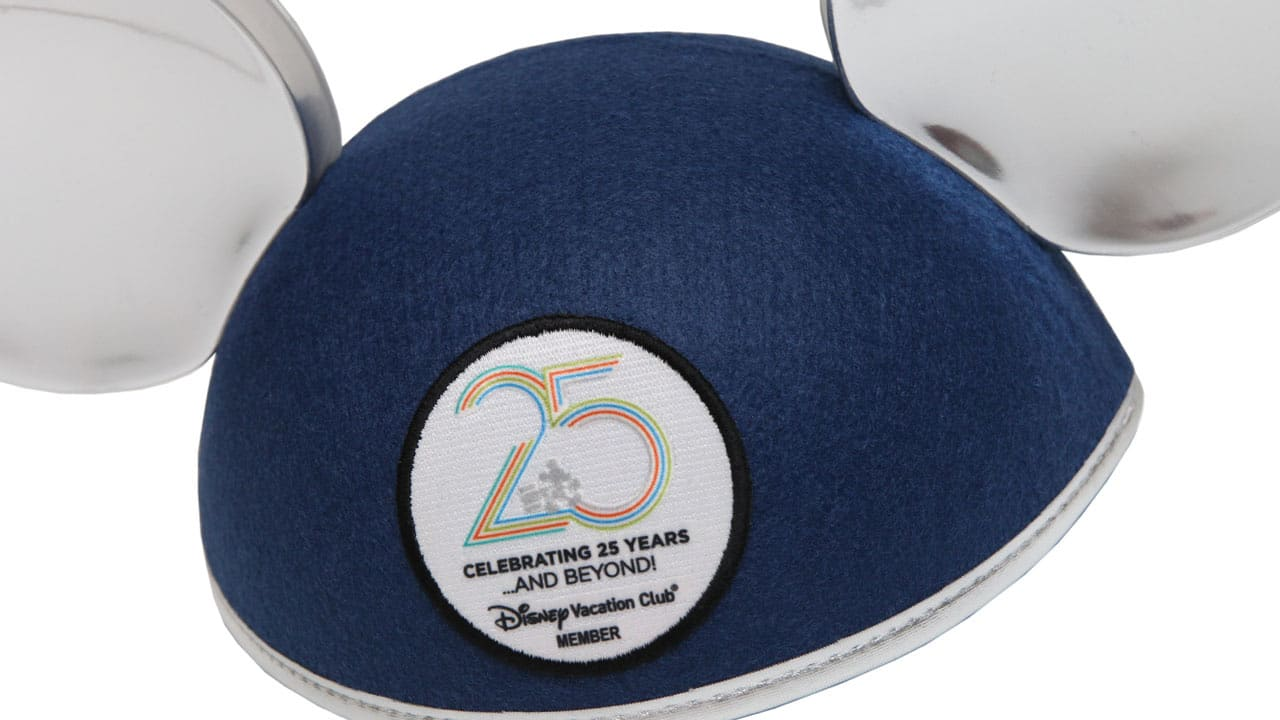 Disney Vacation Club 25th Anniversary Mickey Mouse Ears Hat