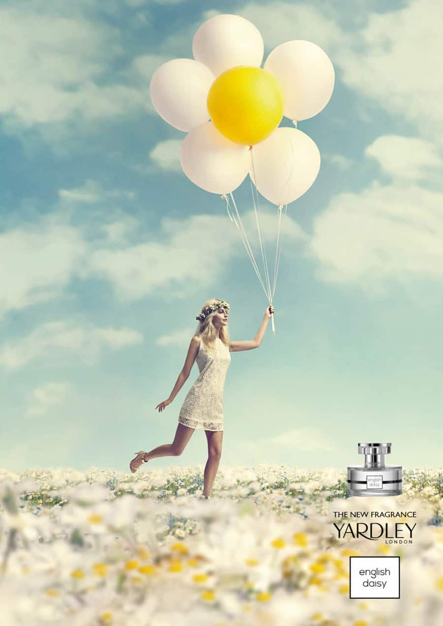 Yardley Fragrance and Beauty Products Art