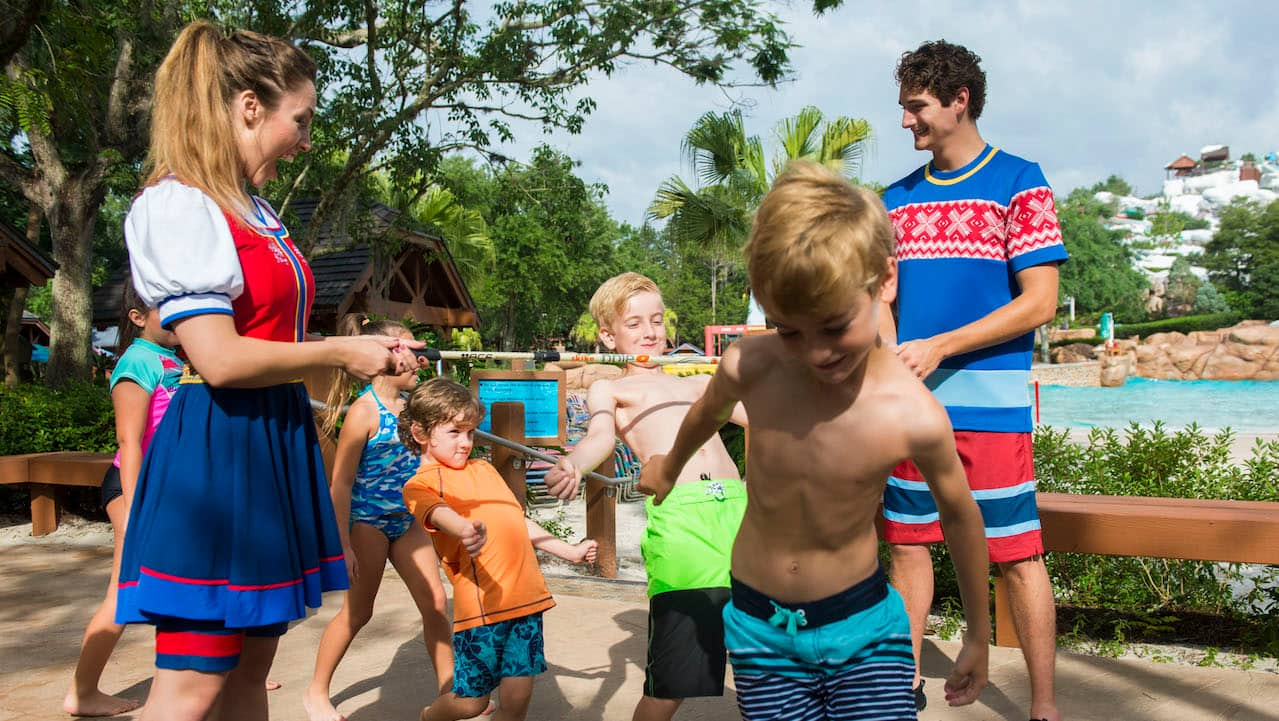 Friendly Competition 'Heats Up' With Frozen Games at Disney's Blizzard Beach