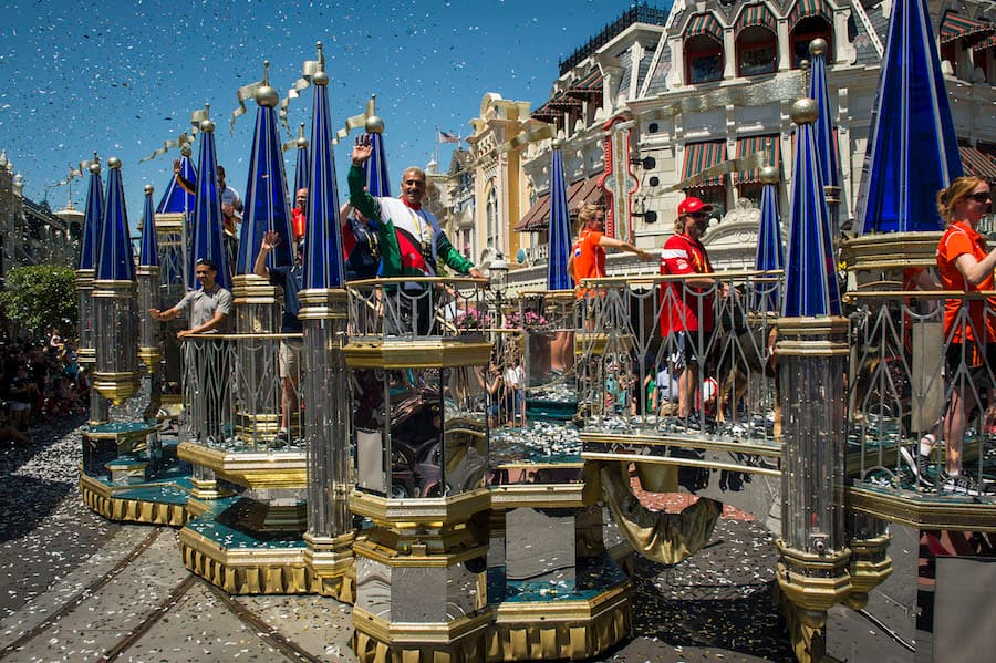 Invictus Games 2016 Parade at the Magic Kingdom