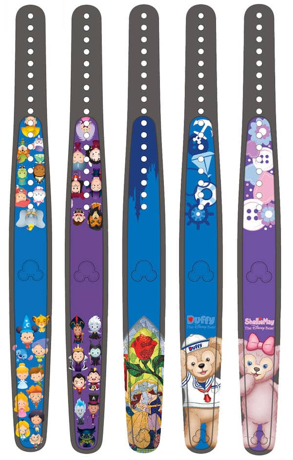 New Disney Characters, 'Beauty and the Beast,' Duffy and ShellieMay MagicBand Artwork