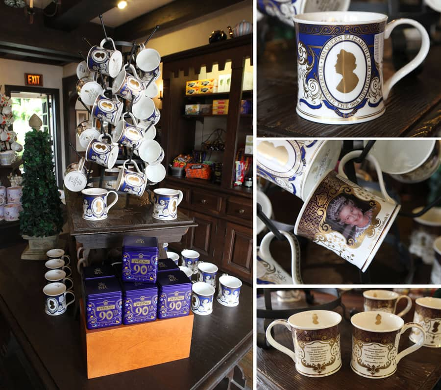 Commemorative Cups at The Tea Caddy