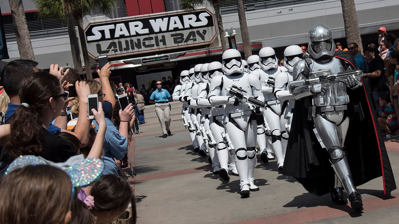 Stormtroopers March at Disney's Hollywood Studios
