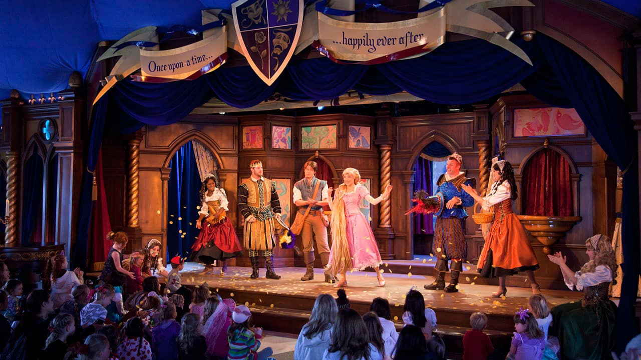 all the disneyland resort is a stage live stage shows disney