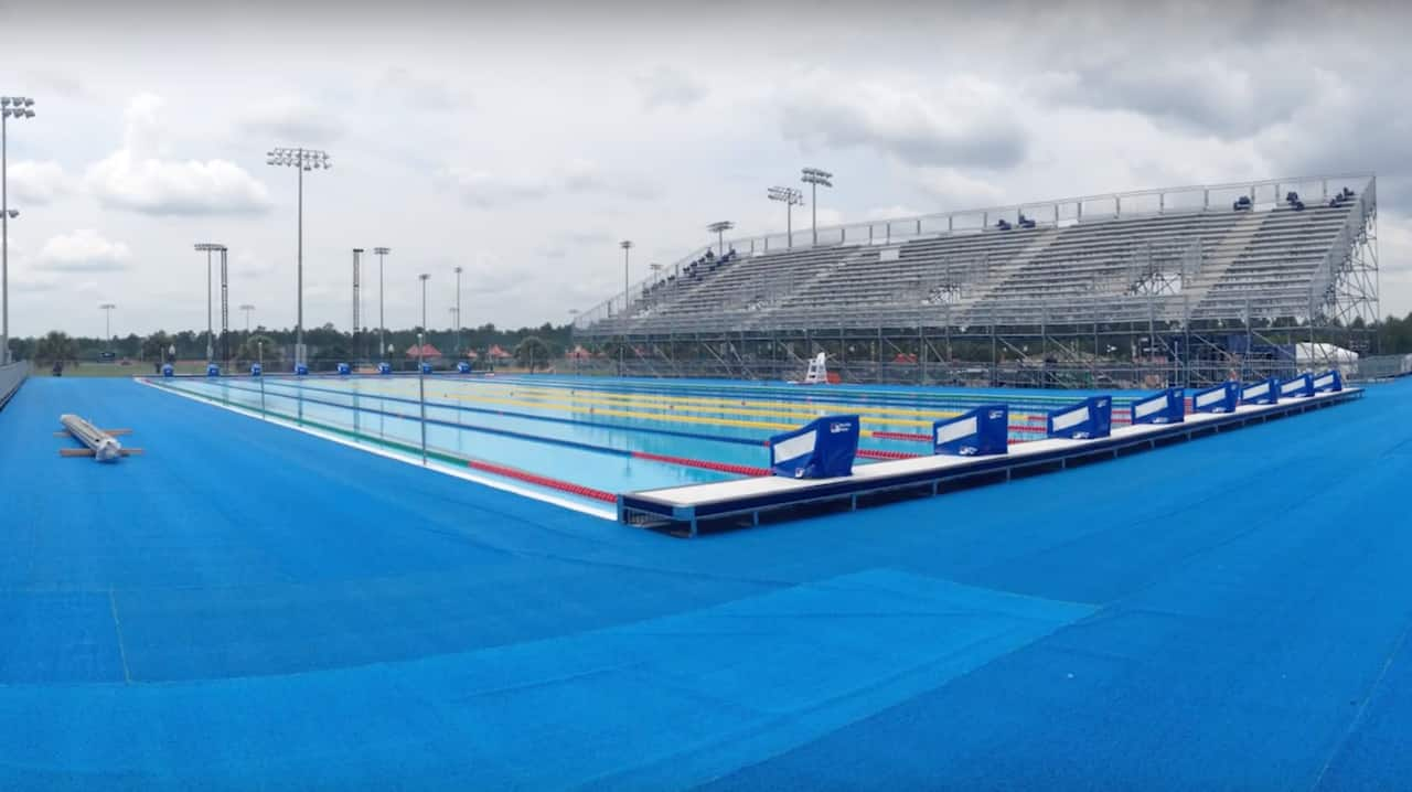 Time Lapse: Invictus Games Swimming Pool Rising Before Our ...