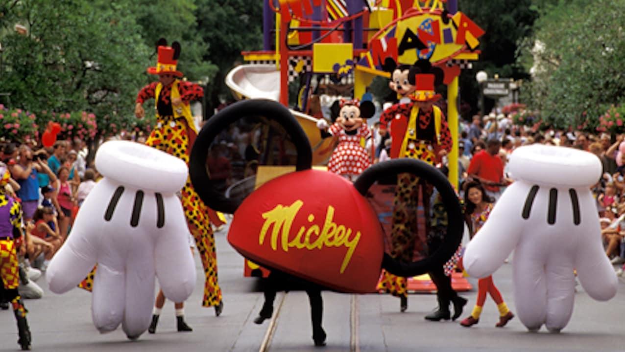 Mickey Mania Parade at Magic Kingdom Park