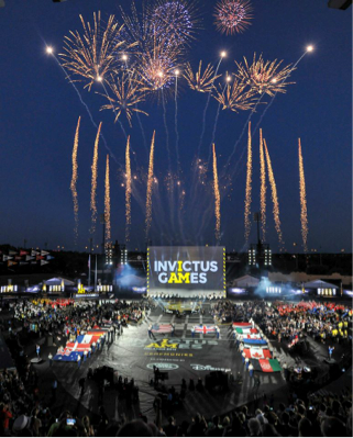 Invictus Games Orlando 2016 Cap Off Inspirational Week