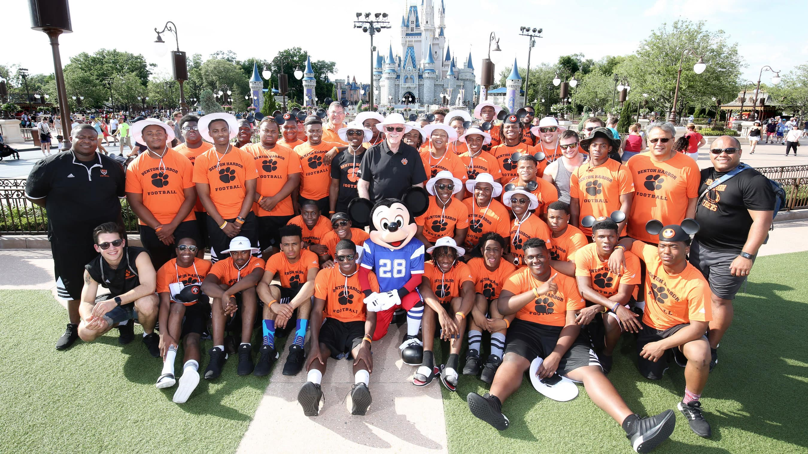 "High School Football Team Celebrates Fairytale Season at Walt Disney World Resort After Receiving Gift of the Magical Vacation Live on ""Good Morning America"""