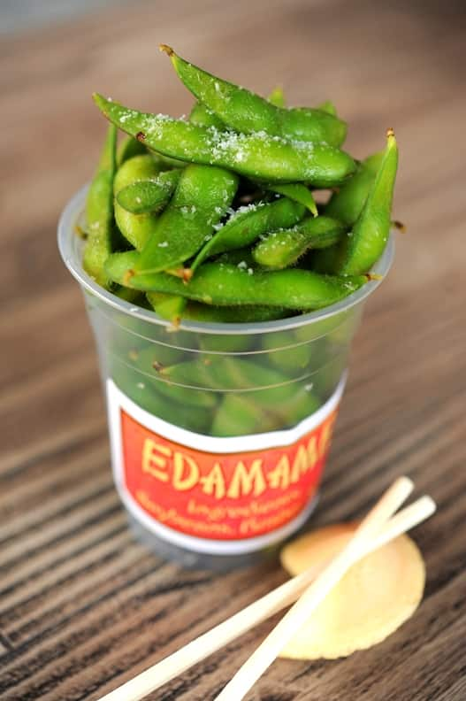 Edamame from Lucky Fortune Cookery