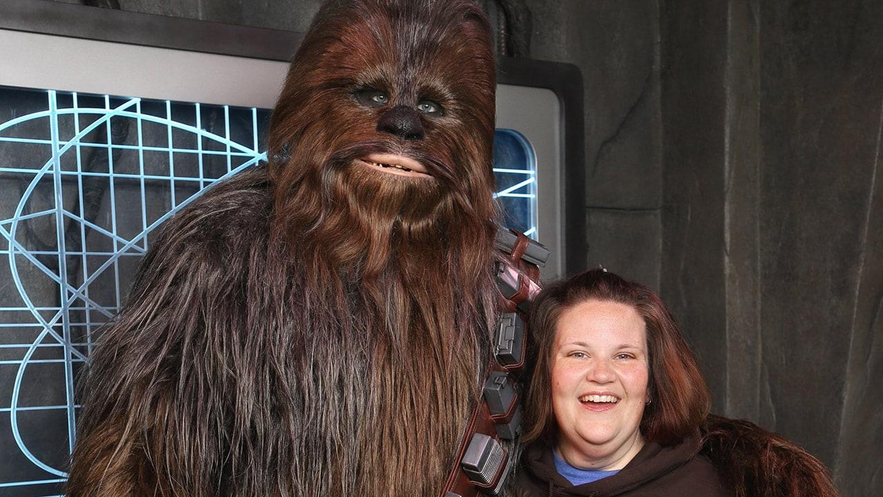 Chewbacca Mom Meets Chewbacca