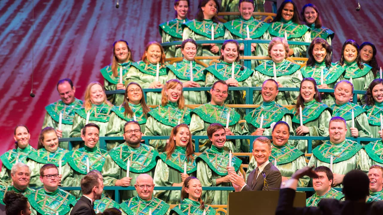 Image result for candlelight processional epcot
