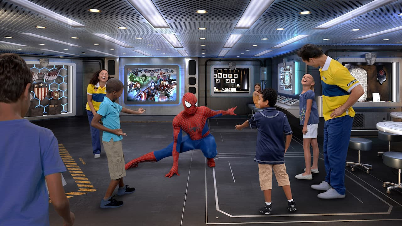 Marvel Super Hero Academy Coming to the Disney Wonder