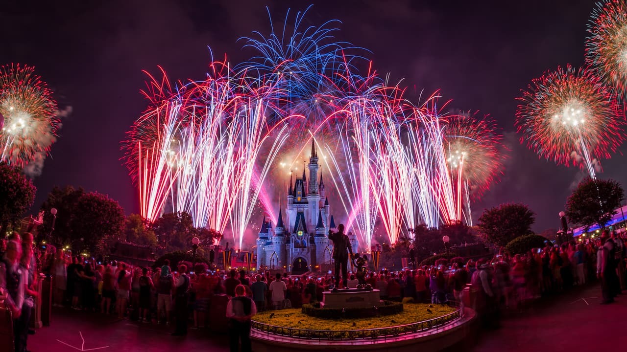 Image result for disneyworld 4th of july fireworks