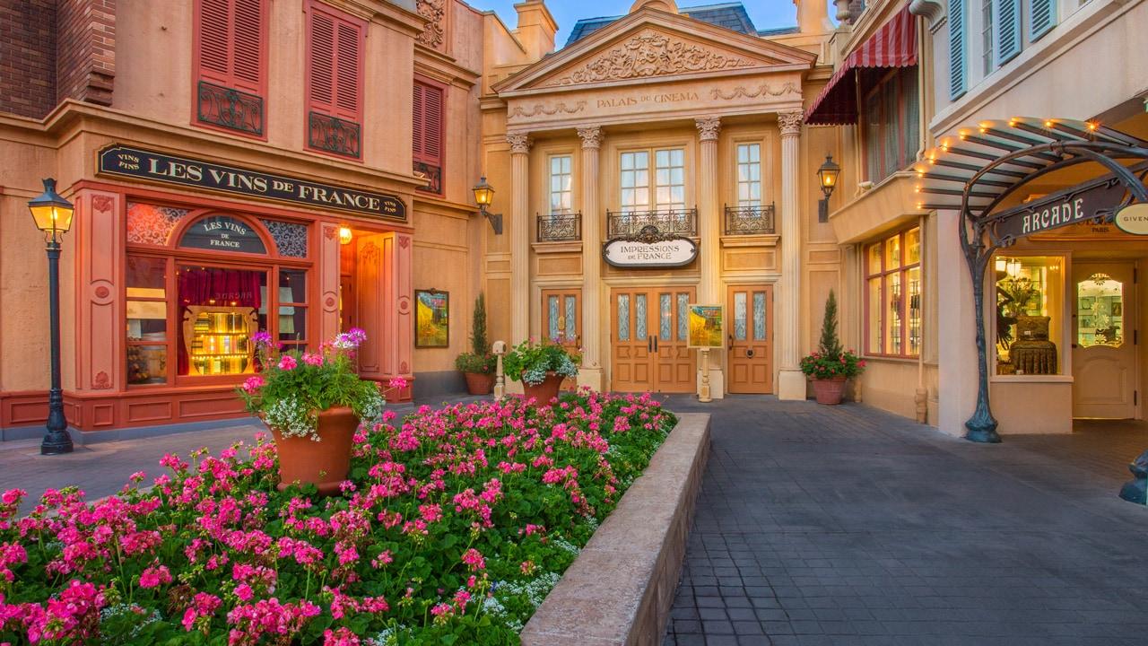 Impressions de France at Epcot at Walt Disney World Resort