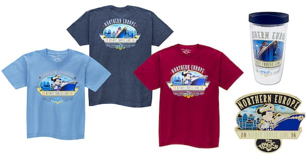 Disney Cruise Line Special Itinerary Merchandise – Northern Europe