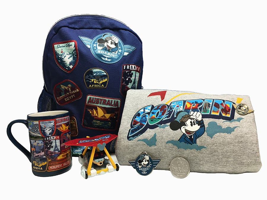 Soarin Around the World Merchandise