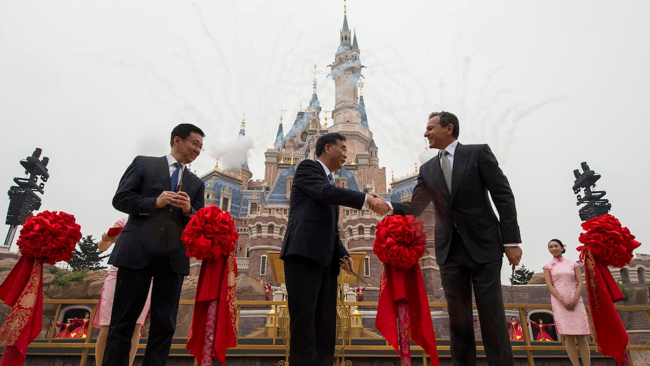Shanghai Disney Resort Celebrates Historic Grand Opening