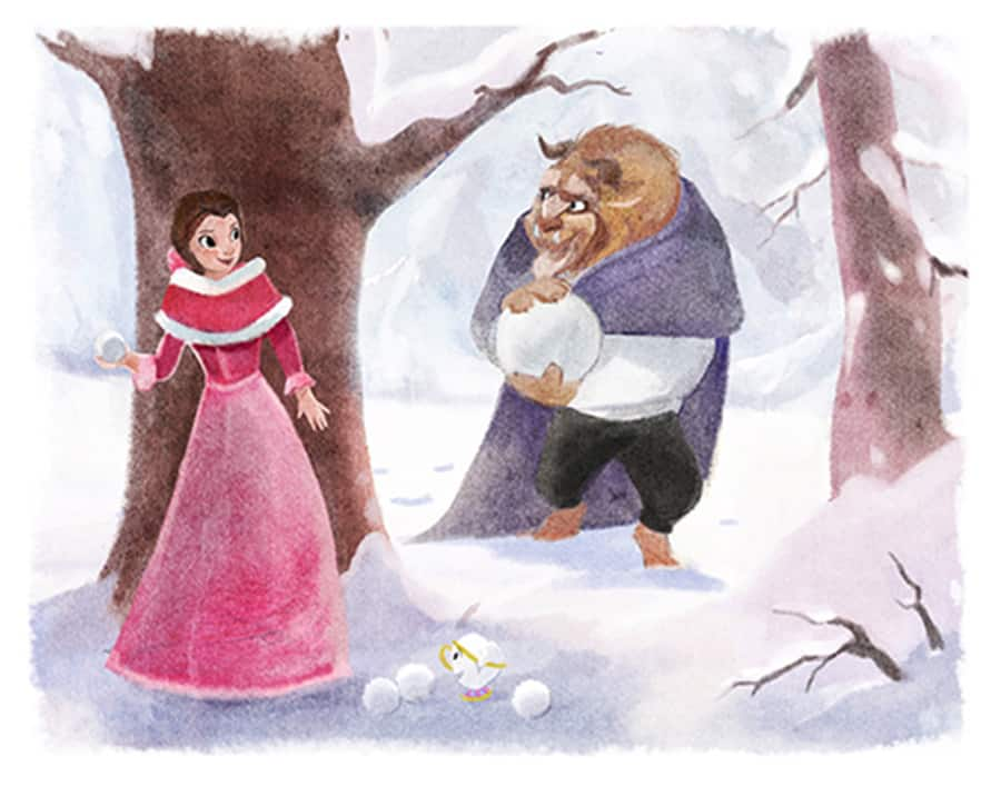 Beauty and the Beast Artwork by Sydney Hanson