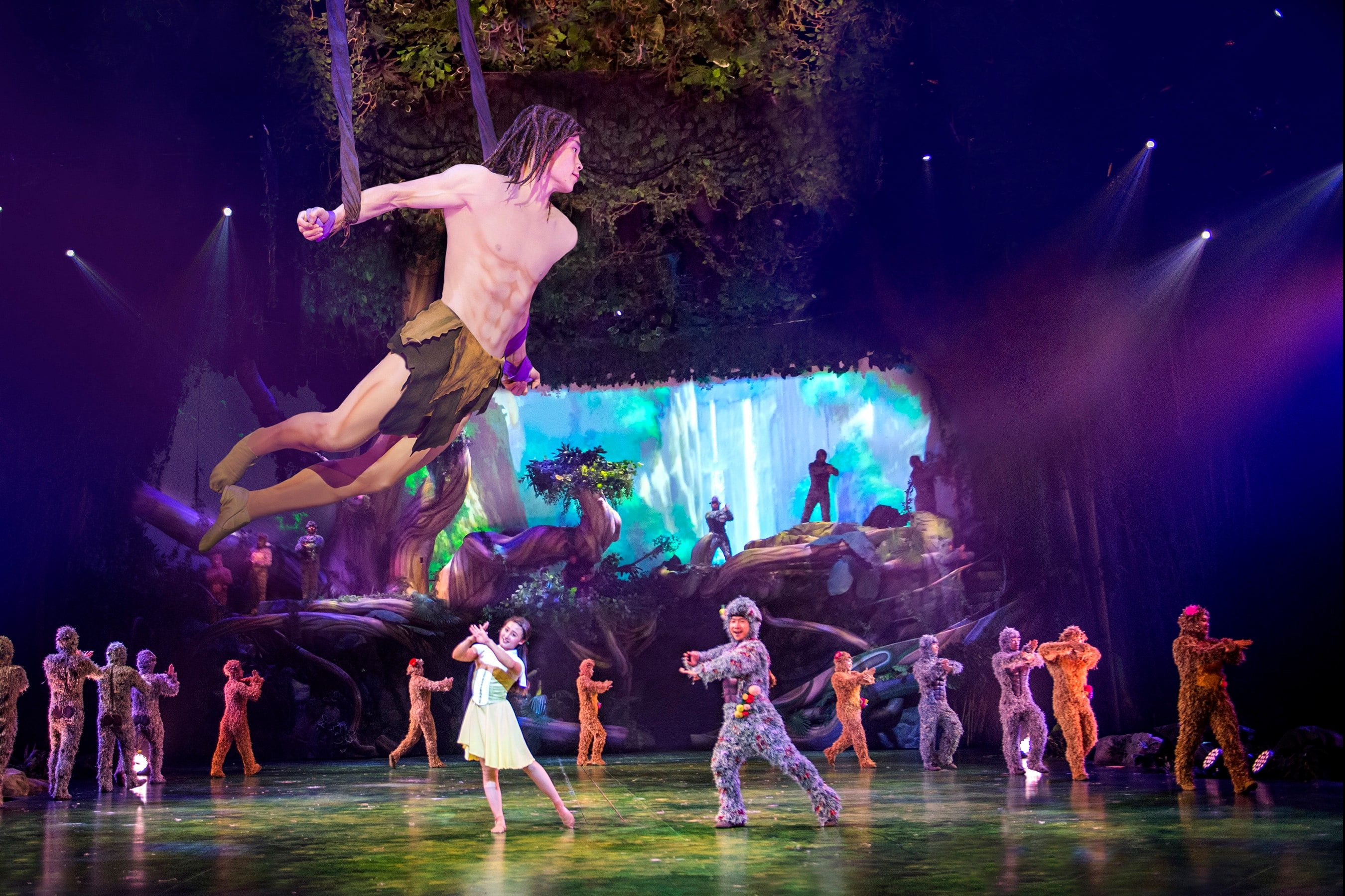 'Tarzan: Call of the Jungle' at Shanghai Disneyland